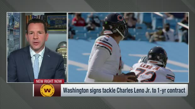 Rapoport: Washington signs tackle Charles Leno Jr.