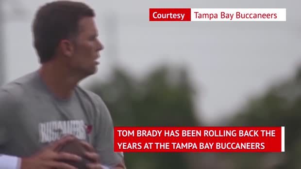 Brady rolling back the years at Tampa Bay