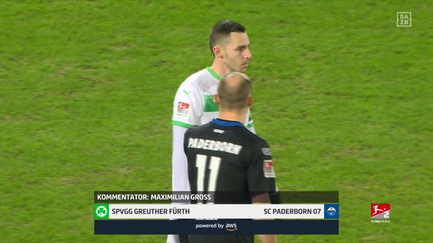 2. Bundesliga: Greuther Fürth - SC Paderborn 07 | DAZN Highlights