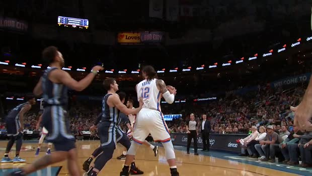 Dunk of the Night: Steven Adams