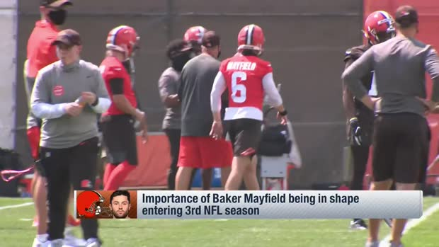Rapoport: Baker Mayfield has new, slimmed-down physique for 2020