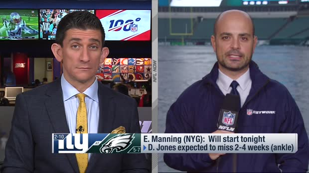 Mike Garafolo reveals key to a Giants victory vs. Eagles