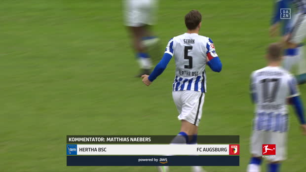 Bundesliga: Hertha BSC - FC Augsburg | DAZN Highlights