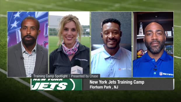 Kim Jones: Denzel Mims battling hamstring injury early in Jets camp