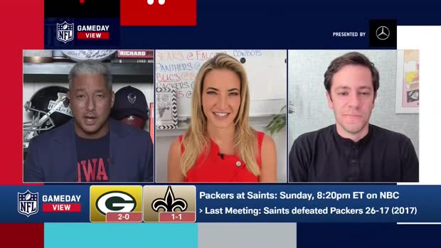 Packers-Saints Score Predictions in Week 3 | 'GameDay View'