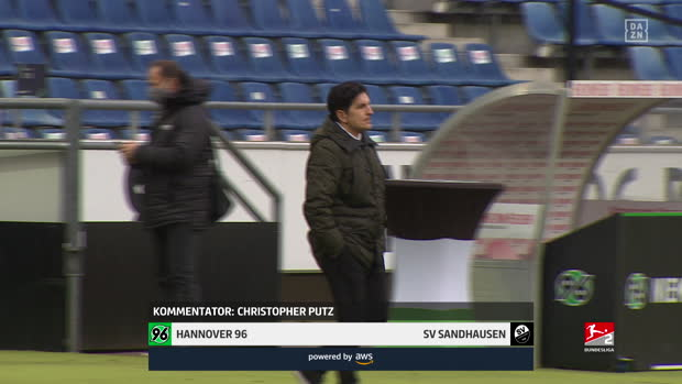 2. Bundesliga: Hannover 96 - SV Sandhausen | DAZN Highlights
