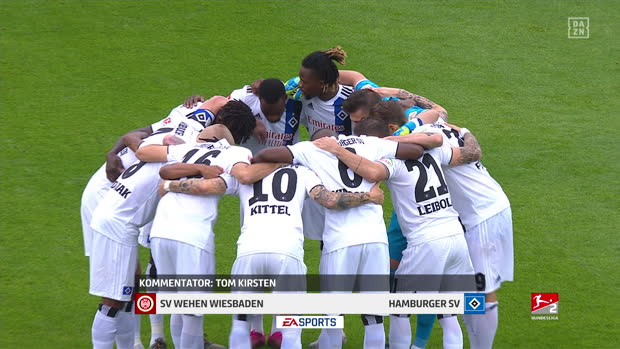 2. Bundesliga: Wehen Wiesbaden - Hamburger SV | DAZN Highlights