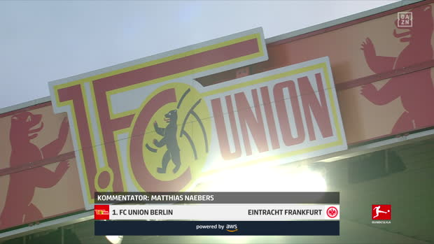 Bundesliga: 1. FC Union Berlin - Eintracht Frankfurt | DAZN Highlights