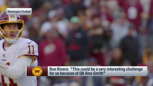 Rivera: Washington QB competition could get 'very interesting' with Alex Smith