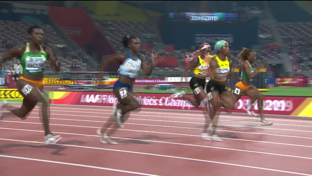 WM: 100m: Shelly-Ann Fraser sprintet zu Gold