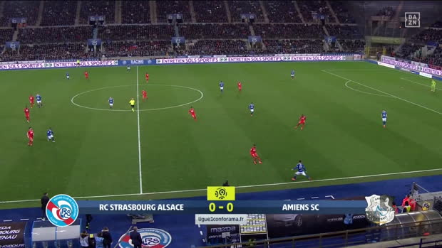 Ligue 1: Straßburg - Amiens | DAZN Highlights