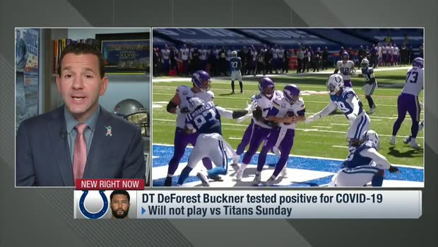 Rapoport: DeForest Buckner positive for COVID-19; out for Week 12 vs. Titans
