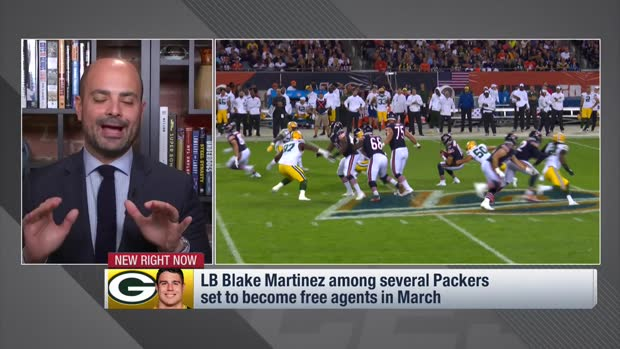 Mike Garafolo: Blake Martinez looks like he'll depart Green Bay via free agency