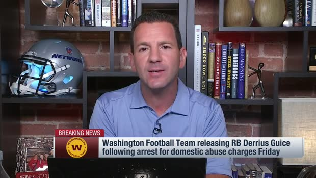 Rapoport: Washington releases Guice after arrest for domestic violence charges
