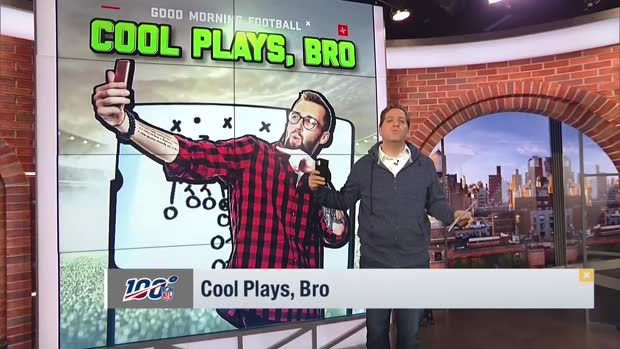 Peter Schrager breaks down the coolest plays from Week 10