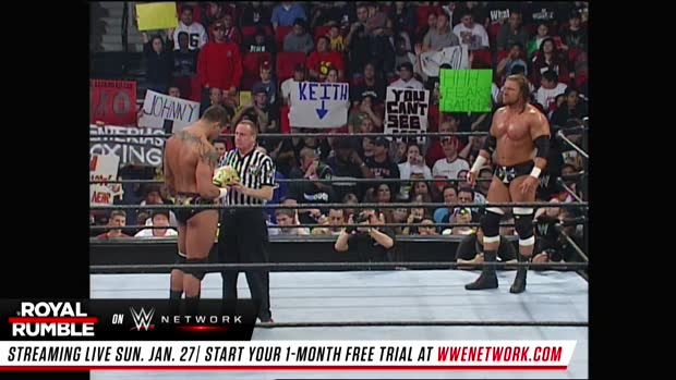 Triple H vs. Randy Orton - World Heavyweight Title Match: Royal Rumble 2005 (Full Match - WWE Network Exclusive)