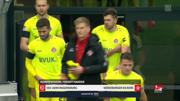 2. Bundesliga: Jahn Regensburg - Würzburger Kickers | DAZN Highlights