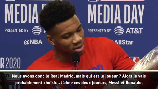 Basket : NBA - All-Star Game - Giannis choisit le Real Madrid