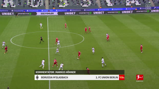 Bundesliga: Borussia M'gladbach - 1. FC Union Berlin | DAZN Highlights