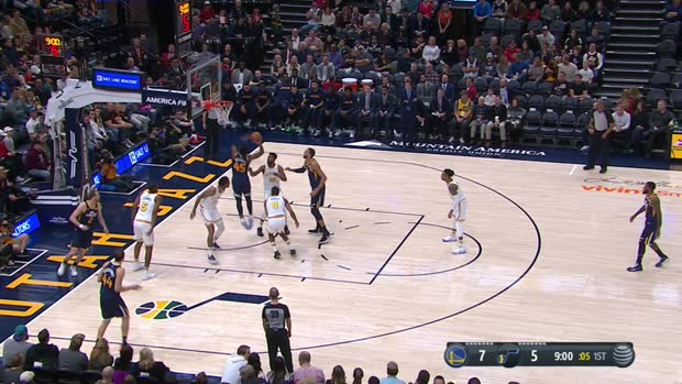 GAME RECAP: Jazz 114, Warriors 106