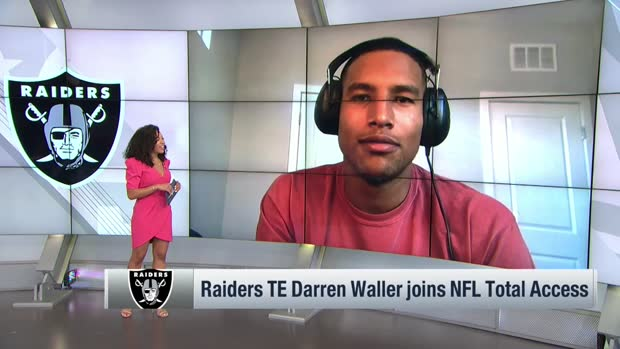 Darren Waller: 'The greatest weapon that I have is my story'