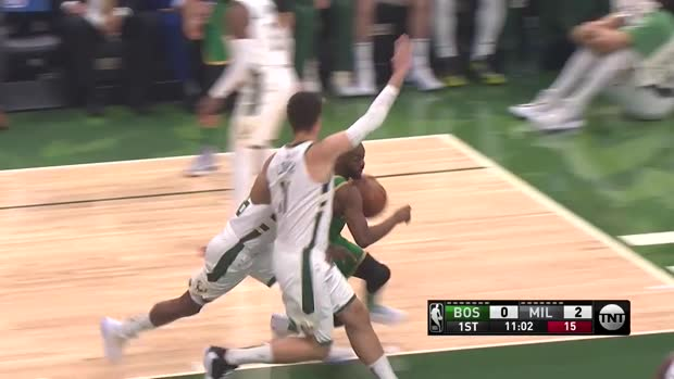 WSC: Giannis Antetokounmpo with 32 Points vs. Boston Celtics