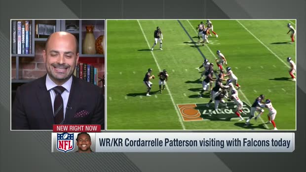 Garafolo: Cordarrelle Patterson expected to sign with Falcons after visit today