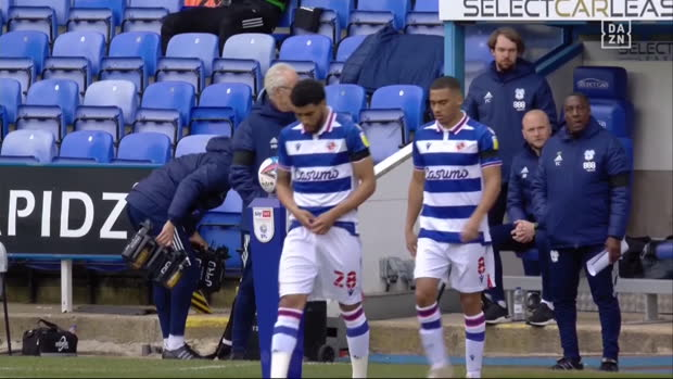 Championship: Reading - Cardiff | DAZN Highlights