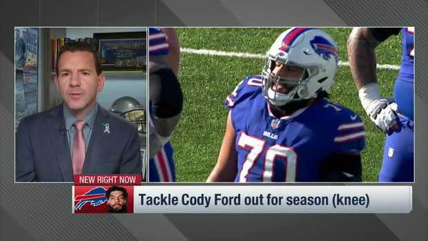 Rapoport: Bills offensive tackle Cody Ford out for rest of 2020 season