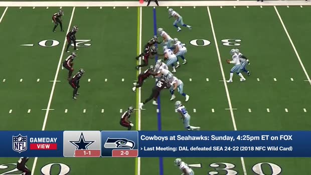 Cowboys-Seahawks Score Predictions in Week 3 | 'GameDay View'