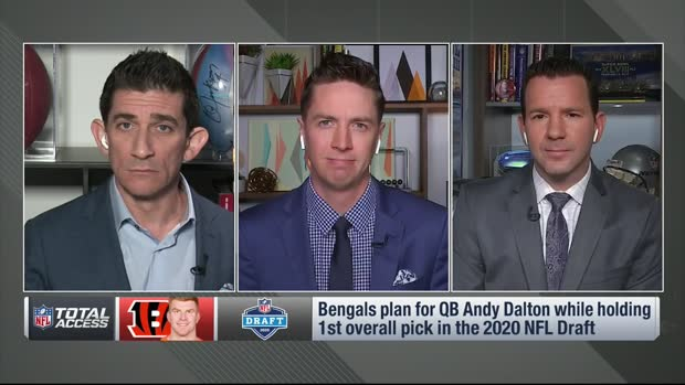 NFL Network Insider Ian Rapoport: 'All options' still open for quarterback Andy Dalton, including staying with the Cincinnati Bengals