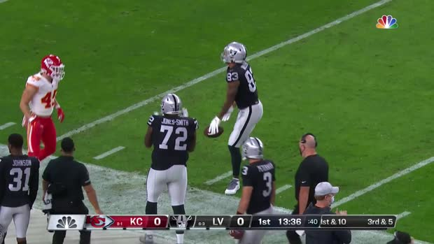 Derek Carr's top throws vs. Chiefs in prime time | Week 11
