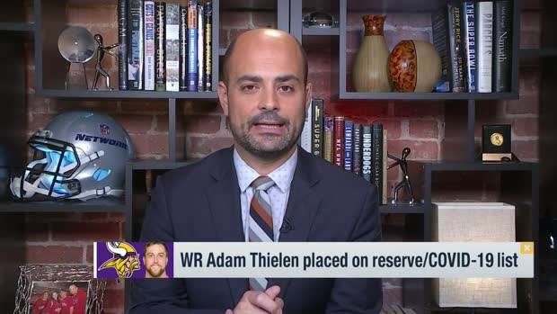 Garafolo: Adam Thielen placed on COVID-19 list