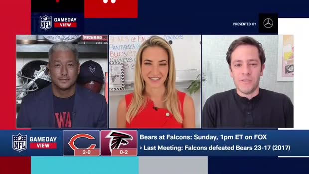 Bears-Falcons Score Predictions in Week 3 | 'GameDay View'