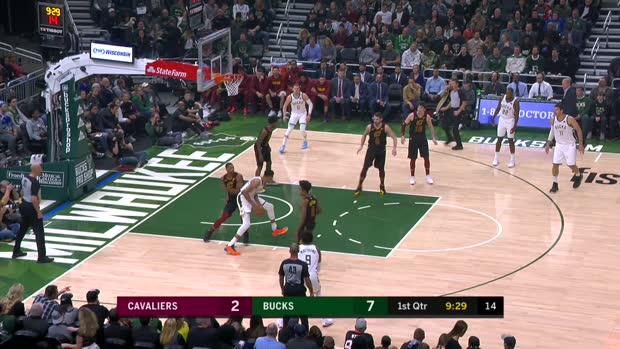 GAME RECAP: Bucks 125, Cavaliers 108