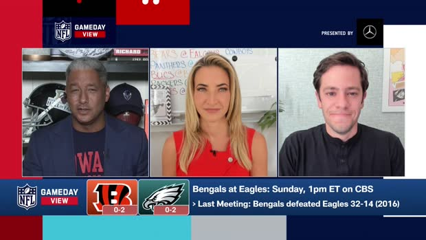 Bengals-Eagles Score Predictions in Week 3 | 'GameDay View'