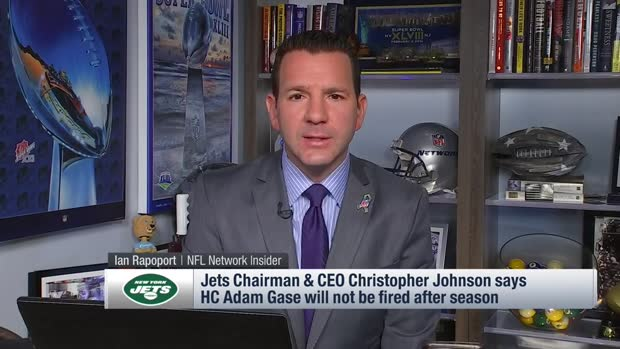Ian Rapoport: New York Jets head coach Adam Gase will not be fired after 2019 season