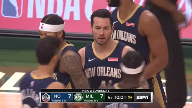 WSC: JJ Redick with 31 Points vs. Milwaukee Bucks