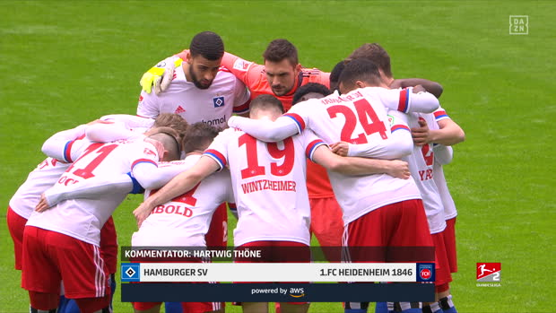 2. Bundesliga: Hamburger SV - 1. FC Heidenheim 1846 | DAZN Highlights