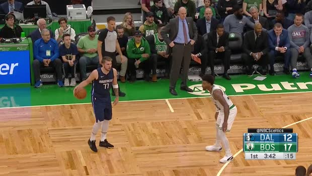 WSC: Luka Doncic with 34 Points vs. Boston Celtics