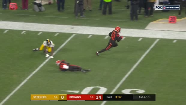 Can't-Miss Play: Flea-flick PICK! Burnett burns former team on deflected INT