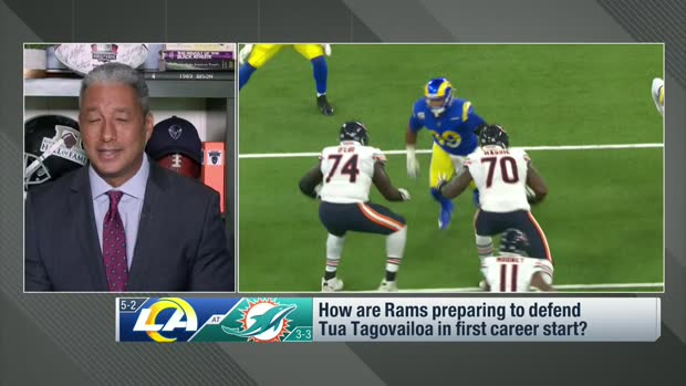 Wyche, Baldinger: How Rams defense is getting ready for Tua Tagovailoa