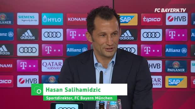 Salihamidzic über Sanches-Kritik und Coutinho