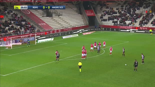 Ligue 1: Reims - Angers | DAZN Highlights