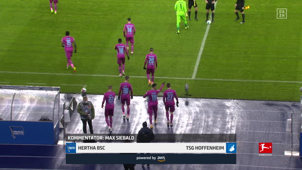 Bundesliga: Hertha BSC - TSG Hoffenheim | DAZN Highlights