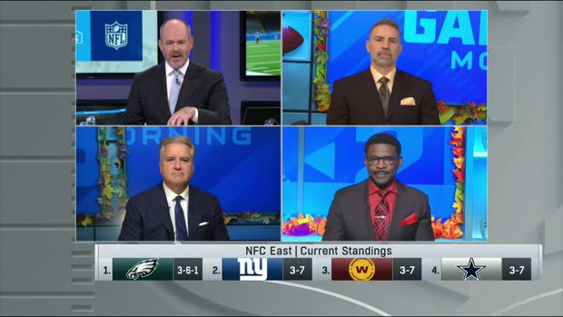 NFL Gameday crew predicts who will win the NFC East