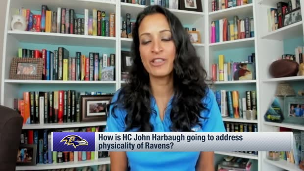 Kinkhabwala explains how John Harbaugh will address Ravens' physicality in '20