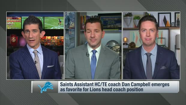 Rapoport: Dan Campbell emerges as favorite for Lions' vacant HC position