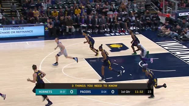 WSC: Myles Turner Blocks vs the Hornets