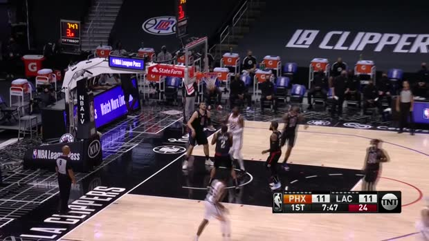 NBA: Suns @ Clippers | StatsPerform Highlights
